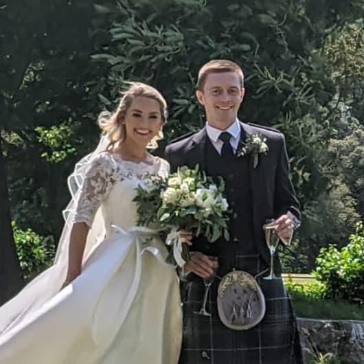 Katie and Ross wedding
